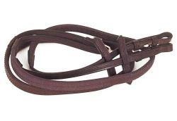 Heritage English Leather RUbber Covered Reins